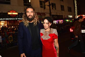 Lisa Bonet's Ex Lenny Kravitz Has Matching Rings With Her Boyfriend Jason Momoa