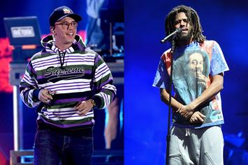 Logic Credits J. Cole For Helping Him Get Over Internet Trolls