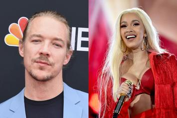 Diplo Shoots His Shot At Cardi B