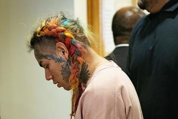 6ix9ine Gets Arrest Warrant For Missing Court, Even Though He's Locked Up