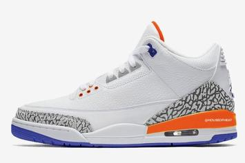 Knicks-Themed Air Jordan 3s Rumored For 2019