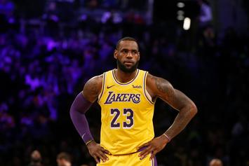 """LeBron James Gets Called Out For Spreading """"Anti-Semetic"""" Content"""