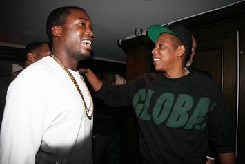Jay-Z Gifts Meek Mill With His Personal Roc Nation Chain