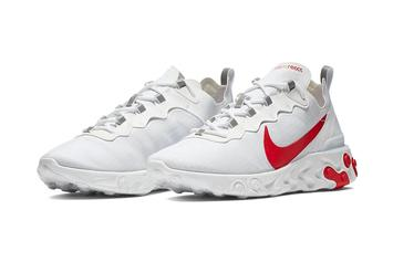 Nike React Element 55 To Release In Two New White Colorways