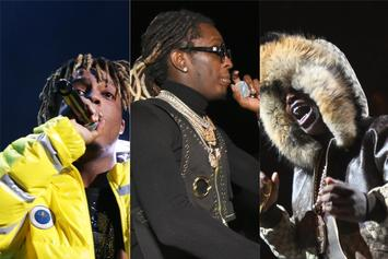 Young Thug Teases 5 New Songs In Live Session With Kodak Black & Juice WRLD