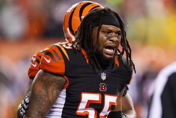 Bengals' Vontaze Burfict's Career In Jeopardy Following Another Concussion