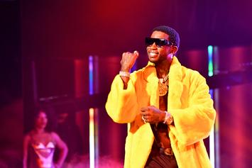 """Gucci Mane Blesses Jimmy Kimmel With """"Off The Boat"""" Performance"""