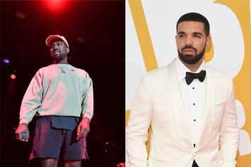 """Kanye West Continues Twitter Beef With Drake: """"Don't Follow My F*cking Wife"""""""