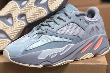 """Adidas YEEZY BOOST 700 """"Intertia"""" Gets An In-Person Look"""