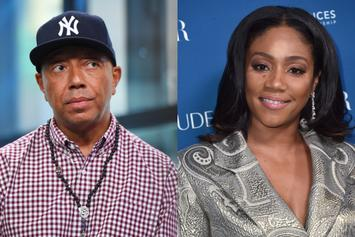 Russell Simmons Lectures Tiffany Haddish On Protest Against Police Brutality