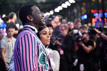 Gucci Mane Gifts Keyshia A Red Rolls-Royce To Match Her Evening Gown