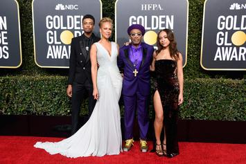 Spike Lee's Custom Jordan's For The Golden Globes Are A Sight To Behold