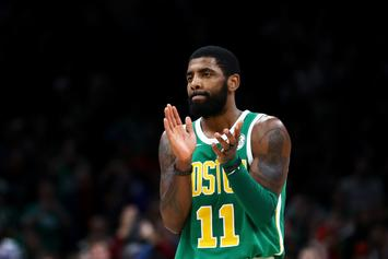 Kyrie Irving To Return To Celtics Tonight After Eye Injury