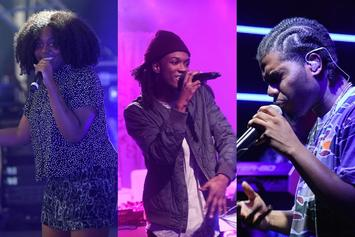 "Noname, Saba, And Smino Form A Trifecta On ""The Tonight Show"""
