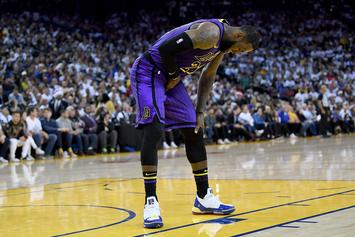 LeBron James Injury Will Be Re-Evaluated Tomorrow, Lakers Optimistic