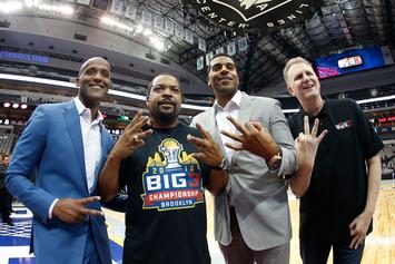 Ice Cube Says Carmelo Anthony Belongs In The NBA And Not The Big3