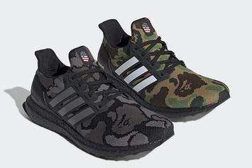 Bape X Adidas UltraBoost Official Images Revealed 75540f2e3