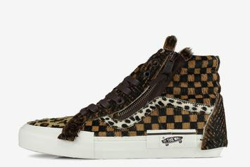 Vans Sk8-Hi Re-Issue Silhouette Gets Dressed In Animal Print