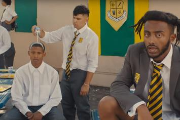 """Aminé Plays """"BLACKJACK"""" In The Halls Of Civil Disobedience"""