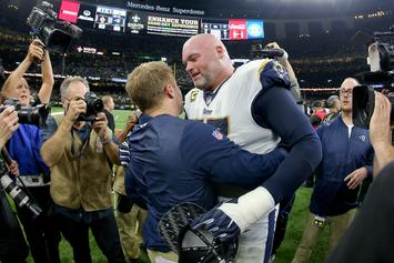 """Andrew Whitworth Of The Los Angeles Rams Says Saints Complaints Are An """"Excuse"""""""