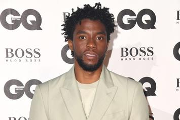 Chadwick Boseman Posts Up In Flowy Balenciaga Shirt For Vanity Fair Cover