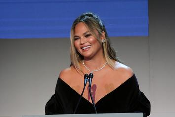Chrissy Teigen Stuns In Miami Swim Fashion Week Throwback