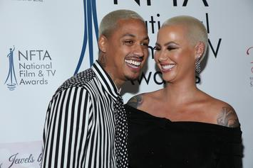 """Amber Rose Gushes About Her Boyfriend, Says She Felt """"Damaged"""" Before They Met"""