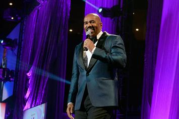 """Steve Harvey Sends Well Wishes To Jussie Smollett After Brutal Attack: """"We Down With You"""""""