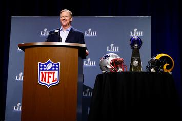 Roger Goodell Acknowledged Potential Changes To NFL Instant Replay