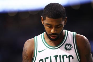"Kyrie Irving Deflects The ""We Want Kyrie"" Chants Of New York Knicks's Fans"