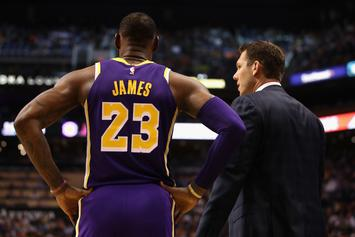 """Luke Walton & Lakers' Vets Almost """"Get Physical"""" In Heated Confrontation"""