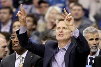 "Steve Kerr Of The Warriors Says It ""Gets Old"" Watching Patriots Win Every Year"