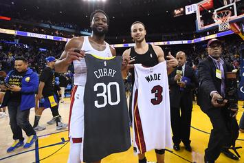 "Steph Curry Shows Respect To Dwyane Wade, Says he has ""A Lot More In The Tank"""