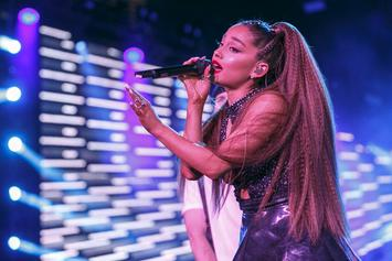 Ariana Grande Reflects On Being Struck By A Hockey Puck Twice As A Kid