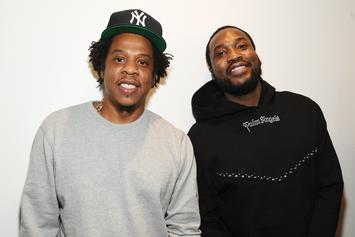 """Meek Mill Says He Saw Grown Men """"Throw It All Away"""" For A Pic With Jay-Z"""