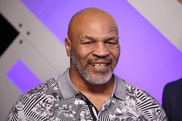 Mike Tyson Smokes Gigantic Joint With Cypress Hill's B-Real: Video