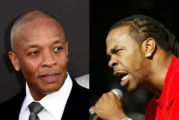 "Busta Rhymes Enlists Dr. Dre For New Album's ""Finishing Touches"""