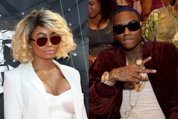 "Soulja Boy & Blac Chyna Make It ""DM Official"" After Cuddling Up In The Club"