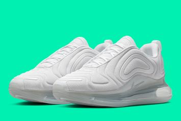"Nike Air Max 720 To Get ""Metallic Platinum"" Colorway"