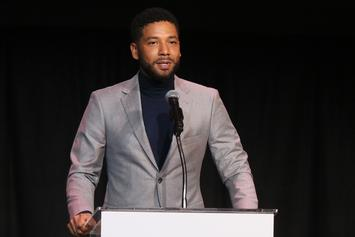 "Jussie Smollett Mocked In Parody Movie Posters: ""Black Prankster"""