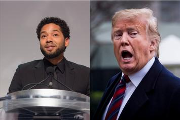 "Donald Trump Blasts Jussie Smollett For Devaluing His ""MAGA"" Brand"