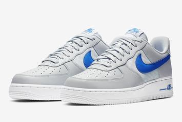 Nike Air Force One Adds Mesh To Three New Colorways