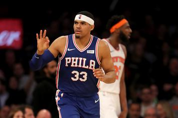 "Tobias Harris Says The 76ers Are ""Ready To Bring It"" For Final Stretch Of Season"