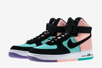 "Nike Air Force One High Added To ""Have A Nike Day"" Collection"