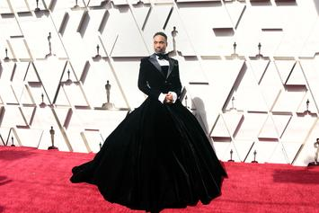"""Billy Porter Wears Tuxedo Gown At Academy Awards: """"I'm A Man In A Dress"""""""