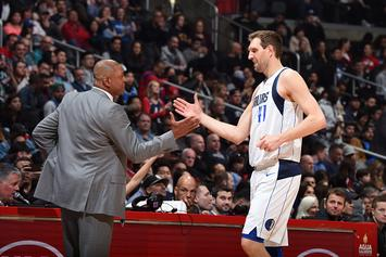 Doc Rivers Stopped Game So Fans Could Salute Dirk Nowitzki: Video