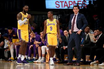 Rajon Rondo And Luke Walton Meeting Sparks Lakers Victory