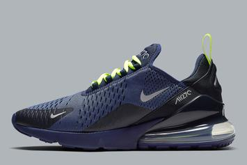 New Nike Air Max 270 Colorway Looks Like A Seahawks Fan's Dream Shoe