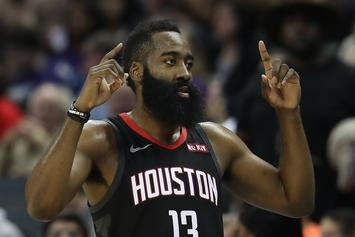 "James Harden Says Rockets Are ""Catching A Rhythm"" Ahead of Playoff Push"