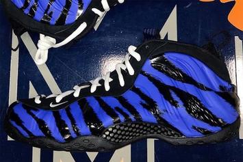"Penny Hardaway's ""Memphis Tigers"" Nike Air Foamposite One Drops This Week"